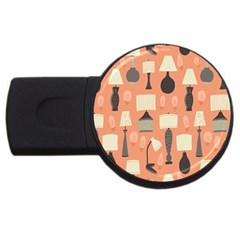 Lamps USB Flash Drive Round (2 GB)