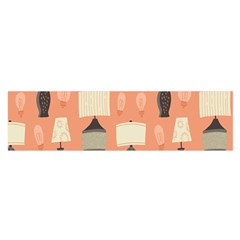 Lamps Satin Scarf (Oblong)