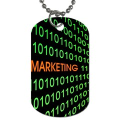 Marketing Runing Number Dog Tag (Two Sides)