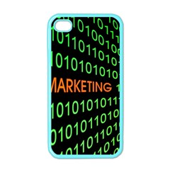 Marketing Runing Number Apple Iphone 4 Case (color)