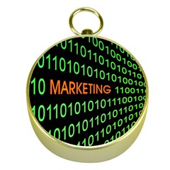 Marketing Runing Number Gold Compasses