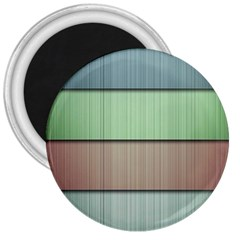 Modern Texture Blue Green Red Grey Chevron Wave Line 3  Magnets