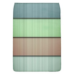 Modern Texture Blue Green Red Grey Chevron Wave Line Flap Covers (L)