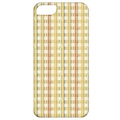 Tomboy Line Yellow Red Apple iPhone 5 Classic Hardshell Case