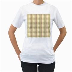 Tomboy Line Yellow Red Women s T-Shirt (White)
