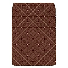 Coloured Line Squares Plaid Triangle Brown Line Chevron Flap Covers (S)