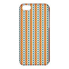 Sunflower Orange Gold Blue Floral Apple iPhone 5C Hardshell Case
