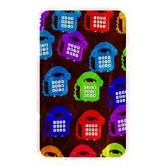 Grunge Telephone Background Pattern Memory Card Reader