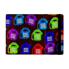Grunge Telephone Background Pattern Apple Ipad Mini Flip Case