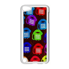 Grunge Telephone Background Pattern Apple Ipod Touch 5 Case (white)