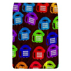 Grunge Telephone Background Pattern Flap Covers (l)