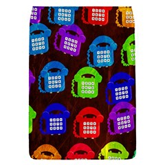 Grunge Telephone Background Pattern Flap Covers (s)