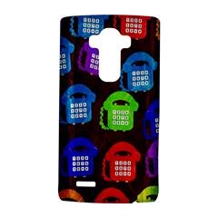 Grunge Telephone Background Pattern Lg G4 Hardshell Case