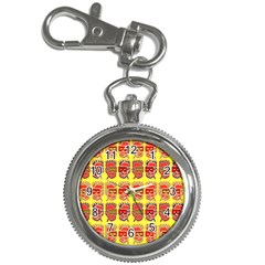 Funny Faces Key Chain Watches