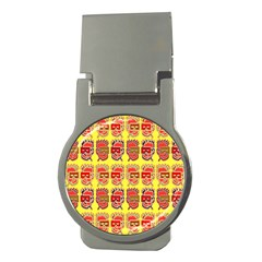 Funny Faces Money Clips (round)
