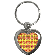 Funny Faces Key Chains (heart)