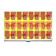 Funny Faces Business Card Holders
