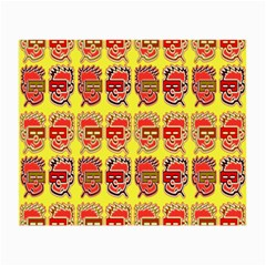 Funny Faces Small Glasses Cloth