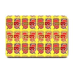 Funny Faces Small Doormat