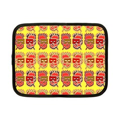 Funny Faces Netbook Case (small)