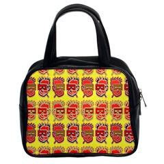 Funny Faces Classic Handbags (2 Sides)