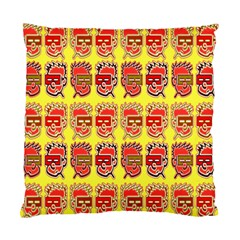 Funny Faces Standard Cushion Case (one Side)