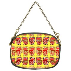 Funny Faces Chain Purses (two Sides)