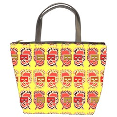 Funny Faces Bucket Bags
