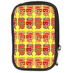 Funny Faces Compact Camera Cases