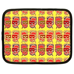 Funny Faces Netbook Case (xxl)