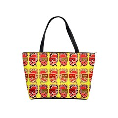 Funny Faces Shoulder Handbags