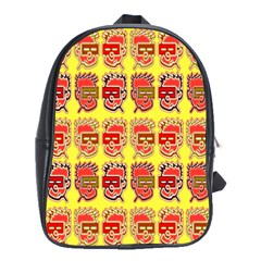 Funny Faces School Bags(large)