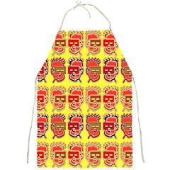 Funny Faces Full Print Aprons