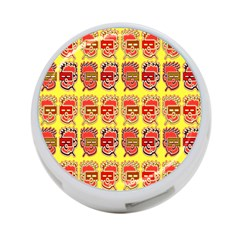 Funny Faces 4 Port Usb Hub (one Side)