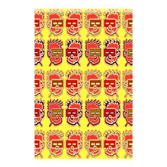 Funny Faces Shower Curtain 48  X 72  (small)