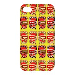Funny Faces Apple Iphone 4/4s Premium Hardshell Case