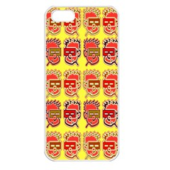 Funny Faces Apple iPhone 5 Seamless Case (White)