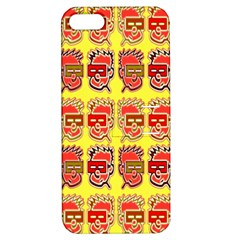 Funny Faces Apple Iphone 5 Hardshell Case With Stand