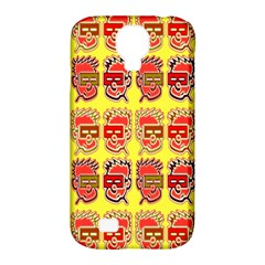 Funny Faces Samsung Galaxy S4 Classic Hardshell Case (pc+silicone)