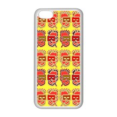 Funny Faces Apple iPhone 5C Seamless Case (White)