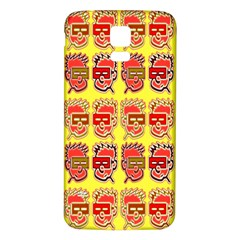 Funny Faces Samsung Galaxy S5 Back Case (white)
