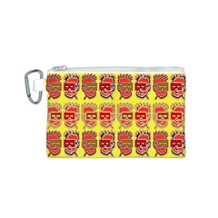 Funny Faces Canvas Cosmetic Bag (s)