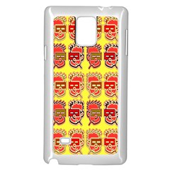 Funny Faces Samsung Galaxy Note 4 Case (white)