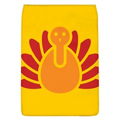 Animals Bird Pet Turkey Red Orange Yellow Flap Covers (L)