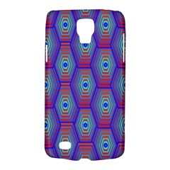 Red Blue Bee Hive Pattern Galaxy S4 Active