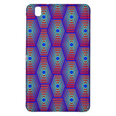 Red Blue Bee Hive Pattern Samsung Galaxy Tab Pro 8 4 Hardshell Case
