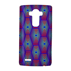 Red Blue Bee Hive Pattern Lg G4 Hardshell Case