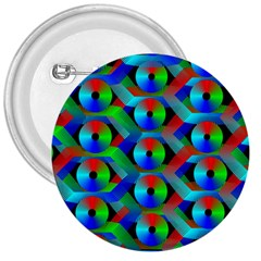 Bee Hive Color Disks 3  Buttons
