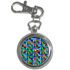 Bee Hive Color Disks Key Chain Watches