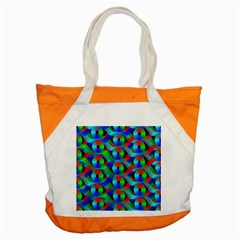 Bee Hive Color Disks Accent Tote Bag